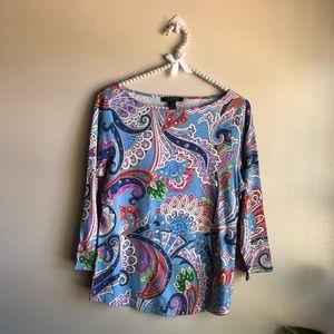 Lauren Ralph Lauren | Multicolored Long Sleeve Top